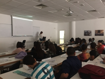 Journée de formation au profit de nos futurs bacheliers à l'Université Internationale de Rabat